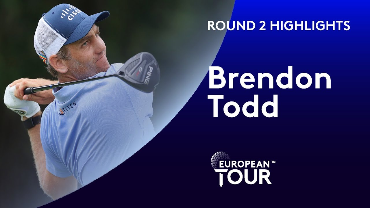 Brendon Todd cards second round 65 | 2020 WGC-FedEx St. Jude Invitational