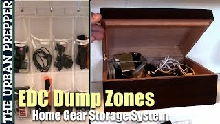 EDC Dump Zones: Home Gear Storage