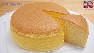 Japanese Cheesecake soft&fluffy (engl. subtitle)- BÁNH PHÔ MAI NHẬT BẢN-Siêu mềm mịn! by Vanh Khuyen