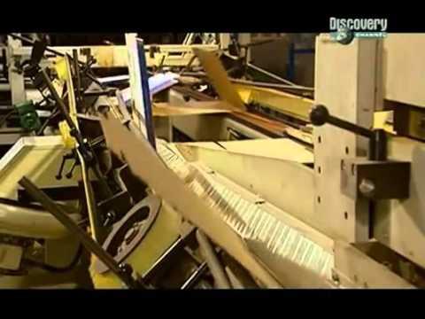 Как делают Картонные коробки и упаковку