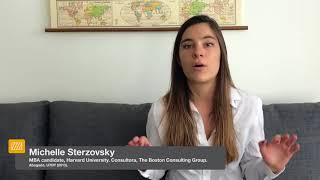 Testimonios de Graduados | Michelle Sterzovsky