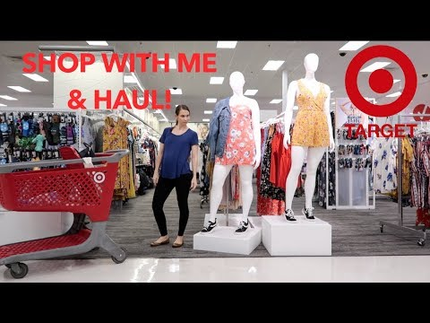 Target Shop With Me + Haul! New Finds + Dollar Spot!