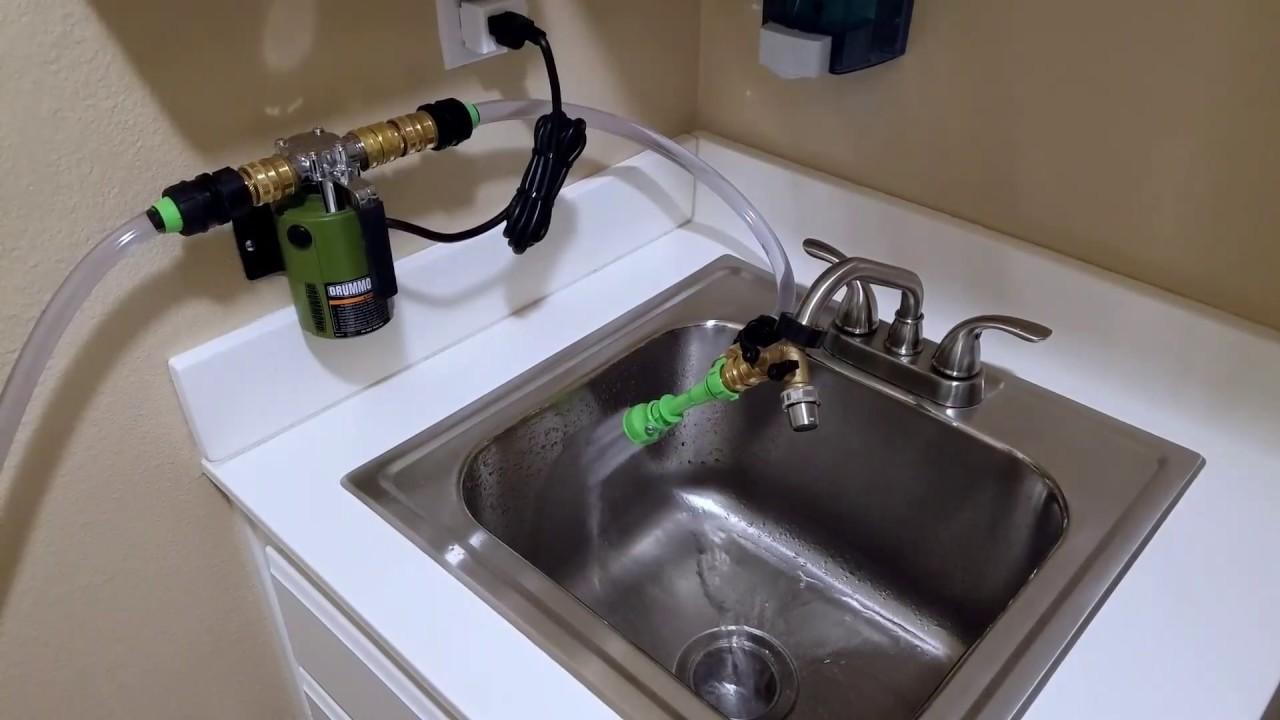 Waterless Aquarium Water Draining System - YouTube