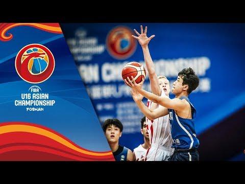 Lebanon v Korea - Full Game - FIBA U16 Asian Championship