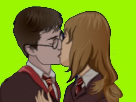 MAKE Harry & Hermione KISS .. And Other Fun Free Games :)