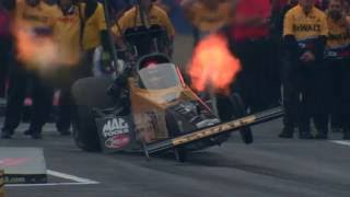 NHRA Top Fuel driver Doug Kalitta's WILD launch in Super Slo Mo