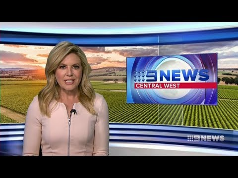 Nine News Central West - 22 August 2017