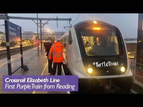 The First #PurpleTrain From Reading