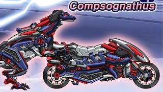 Dino Robot Compsognathus - Transformers | Eftsei Gaming