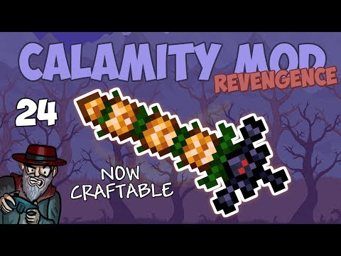 Terraria # 24 SOLAR SEASONS! 1.2 Update - 1.3.5 Calamity Mod Let's Play Season 2