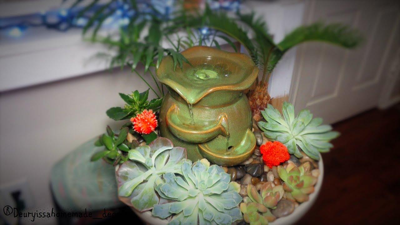 arreglo de cactus y suculentas decora con mini jardines