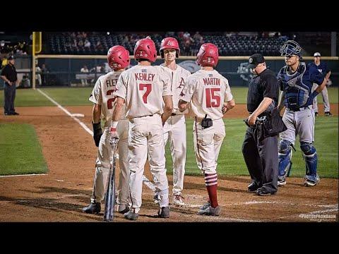 Arkansas Razorback Baseball - Game 33 Vs Oral Roberts
