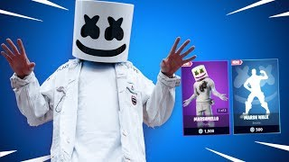 NEW MARSHMELLO SKIN Fortnite Daily Reset NEW Items in Item Shop