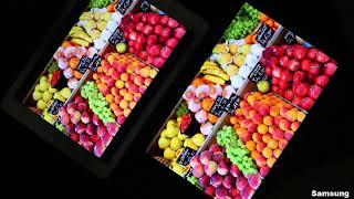Samsung Tab S Super AMOLED vs iPad Retina IPS LCD Display Comparison