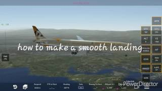 Infinite Flight: how to make a smooth landing [OLD]