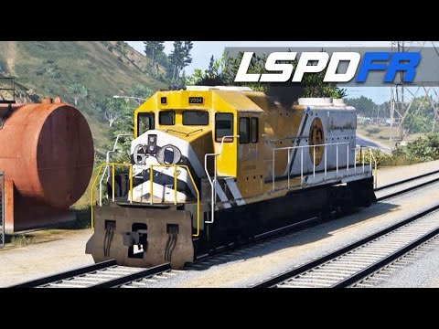 LSPDFR E142 - In a Train? | Chase Me