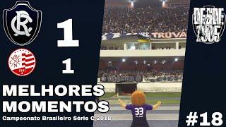 Remo 1x1 Náutico PE / Melhores Momentos / Campeonato Brasileiro Série C 2018 / Rodada #18