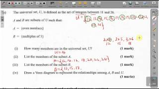 cxc csec maths past paper 2 question 3a may 2014 exam solutions act math sat math