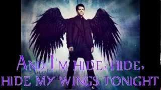 Castiel~Angel with a shotgun (lyrics)
