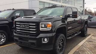 2019 GMC Sierra 2500HD All Terrain Cognito Level Fox Shocks Nitto Tires Oshawa ON Stock #