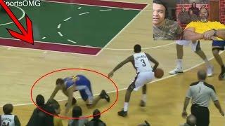 Dad Reacts to Stephen Curry Getting Crossed Compilation! (EXPOSED!)