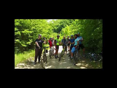 Mountain bike tour close to Tbilisi | Day ride tour | Lisi lake - village Bevreti | ველო ტური