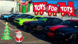 toys 4 tots mopar car show event valley stream ny challengers chargers and more