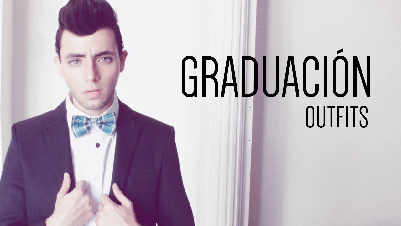 Como puedo ir vestido a una graduacion hombre