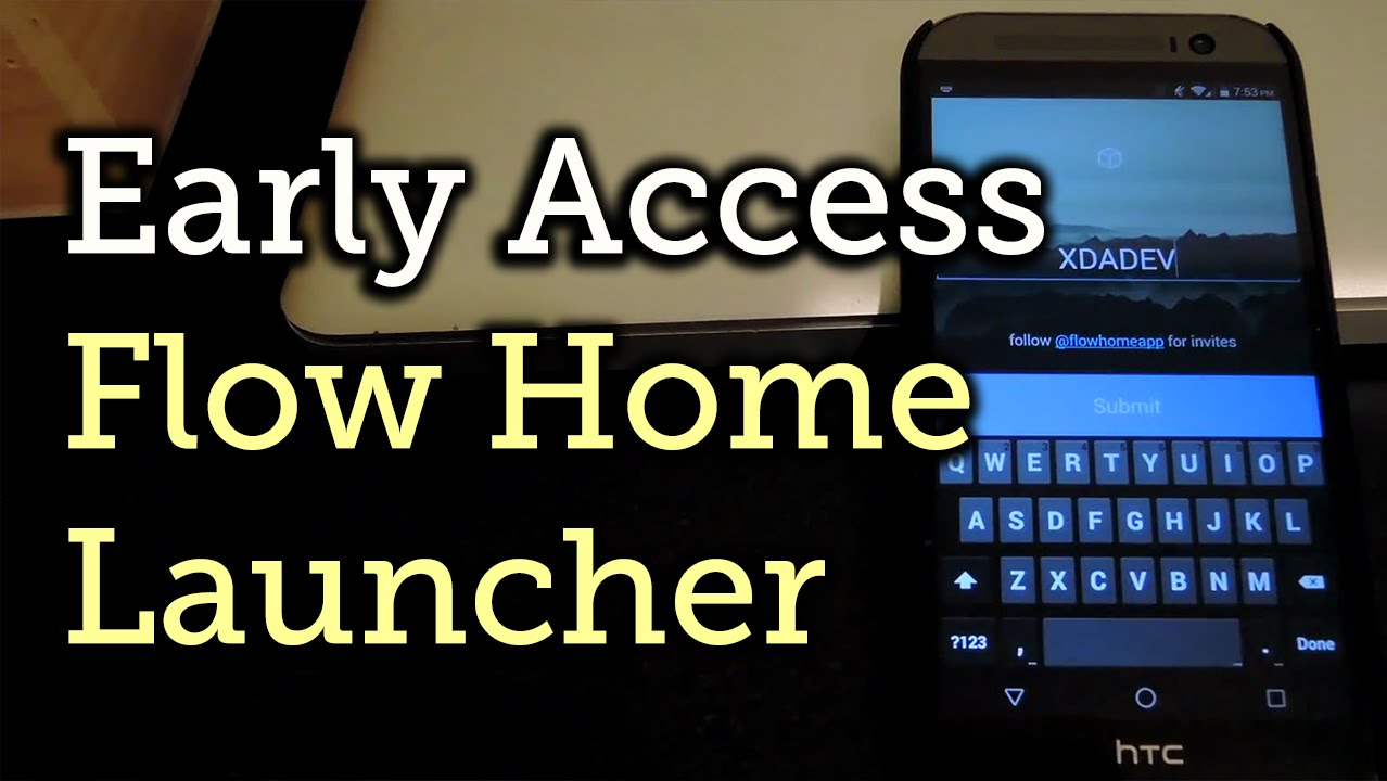 Gain Early Access to the Flow Home Social Media Launcher [How-To]