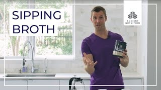 How to Make Sipping Broth   Ancient Nutrition