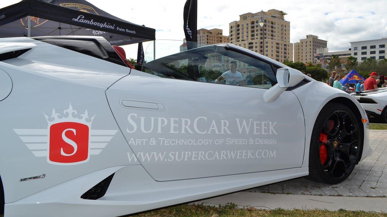 Super Car Week Final Day Car Show West Palm Beach Florida - Car show west palm beach
