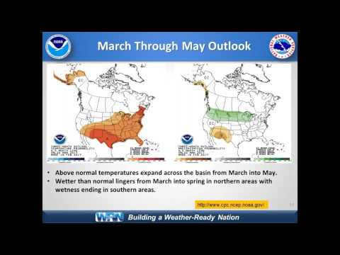 March 2017 National Weather Service Spring Hydrologic Outlook for NWS Partner