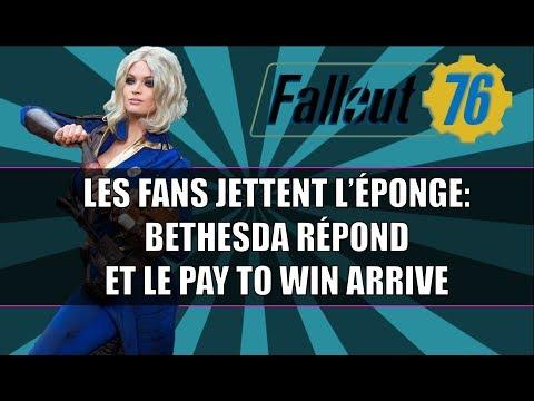 FALLOUT 76: BETHESDA RÉPOND AUX FANS DECUS / LE PAY TO WIN ARRIVE !!! thumbnail