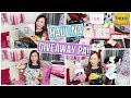 MAKEUP  CLOTHES   SKIN CARE HAUL    GIVEAWAYSSS      RealAsianBeauty
