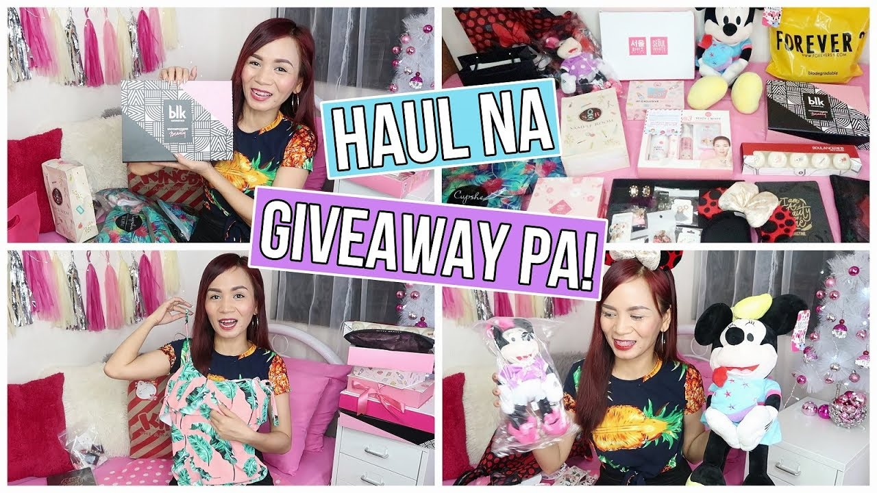 MAKEUP, CLOTHES & SKIN CARE HAUL ++ GIVEAWAYSSS!!! | RealAsianBeauty