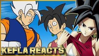 KEFLA REACTS TO VEGITO VS KEFLA, DRAGON BALL PARODY!