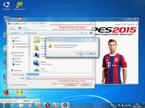 PES 2015 Save Editor - Drag and drop ML 01.bin / BL 01.bin into PES ...