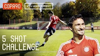 COPA | 5 Shot Challenge With Mats Hummels! ft. Timbsy and Vuj