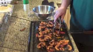 Don's Cook Nook: Grilled Shrimp Fajitas