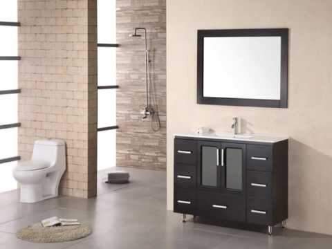 Narrow Depth Vanities