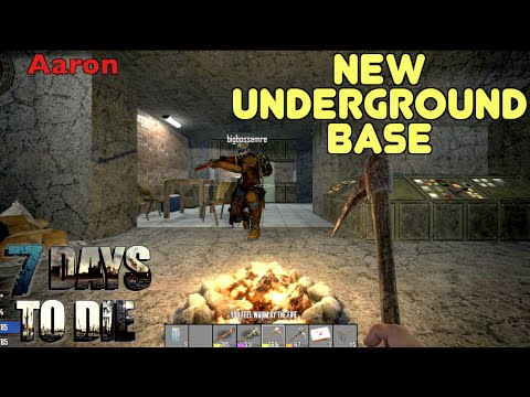 7 Days To Die - New Underground Base (E113) - GameSocietyPimps