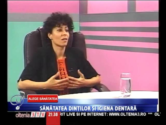Stomatologie Craiova - interviu dr. Loredana BADEA - partea II
