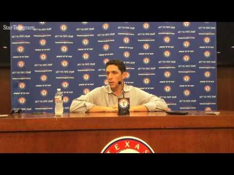 Rangers GM Jon Daniels thought Lucroy was headed to Yankees