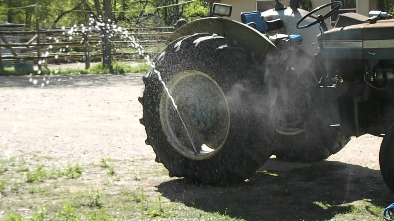 Tractor Tires And Turkeys Youtube