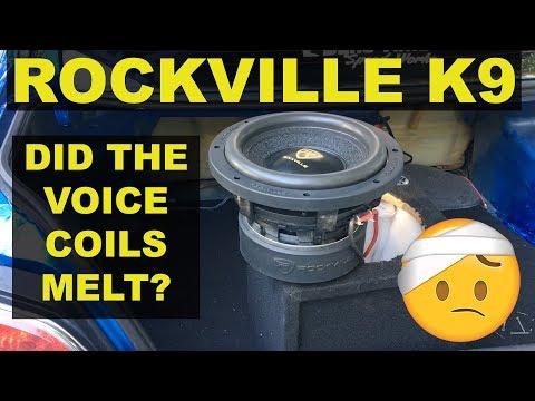 ROCKVILLE K9 SUBWOOFER 3 MONTH REVIEW!