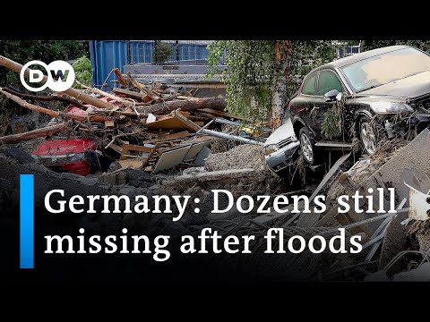 Hopes of finding survivors fade in flood-hit areas in Germany   DW News