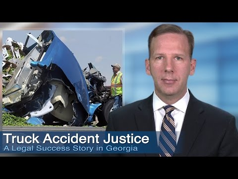 Atlanta Truck Accident Law Firm's Expertise Increases Victim's Settlement