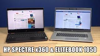 HP Spectre x360 en Elitebook 1050: topmodellen voor privé en werk?