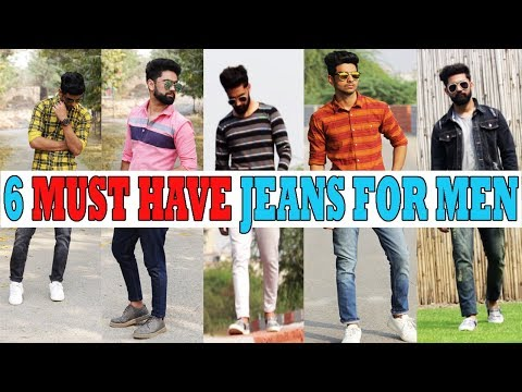 6 AMAZING jeans YOU NEED right now!  Best jeans for INDIAN men 2018