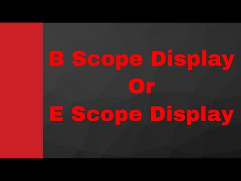 B Scope Display (RADAR Display) by Engineering Funda (RADAR Engineering, Microwave Engineering)